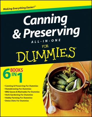 Canning & Preserving All-in-One for Dummies By Consumer Dummies (COR)